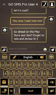 Pure Gold Keyboard - screenshot