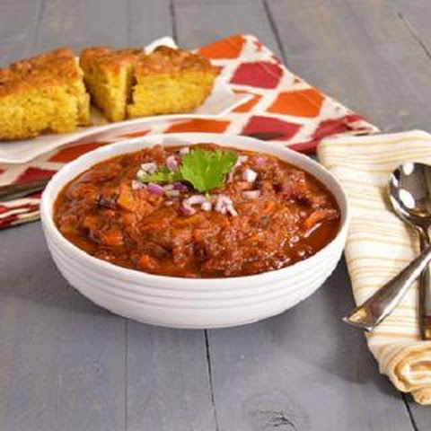 Two Bean Chili - gluten-free, vegan