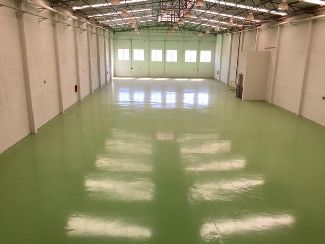 Salão Industrial 2000 m².