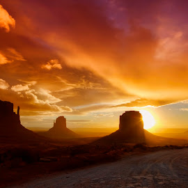 Desert Southwest by Ken Smith - Landscapes Travel ( monument valley, sunrise )