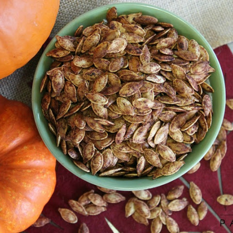 Sweetly Roasted Pumpkin Seeds