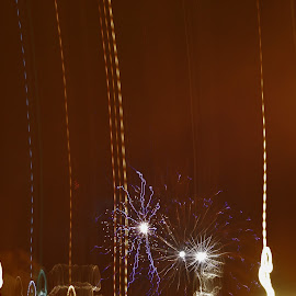 by Tricia Skorput - Abstract Fire & Fireworks