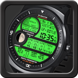 F04 WatchFace for Round Wear
