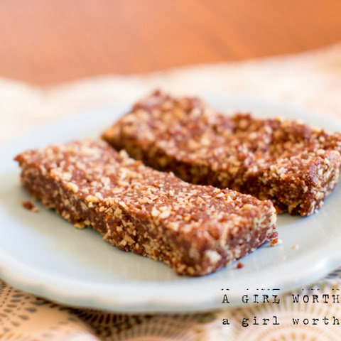Nut-free Chocolate Date Bars