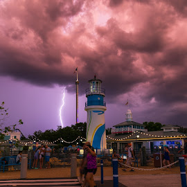 Lighting  by Narendra Mogilipuri - City,  Street & Park  Amusement Parks ( travel photography, usa, florida )