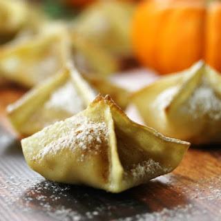 Pumpkin Cream Cheese Wontons Recipes