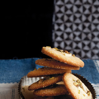 Cardamom Cookies with Almonds