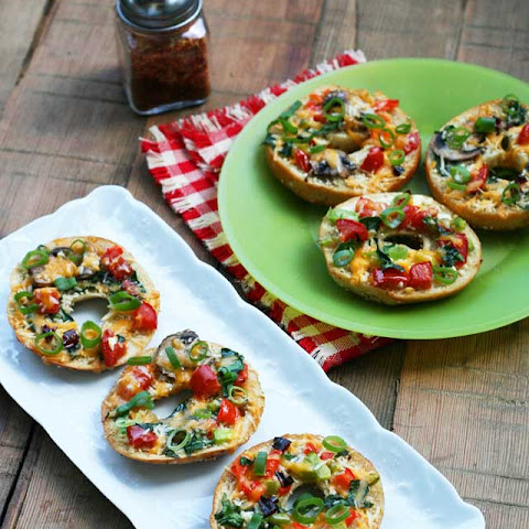 Thin Crust Bagel Pizza