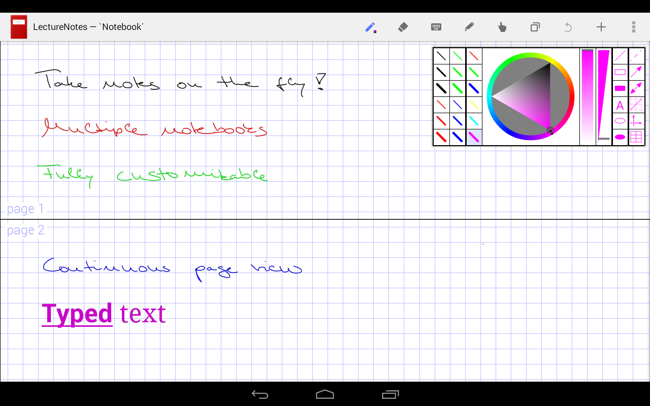 LectureNotes Screenshot 7