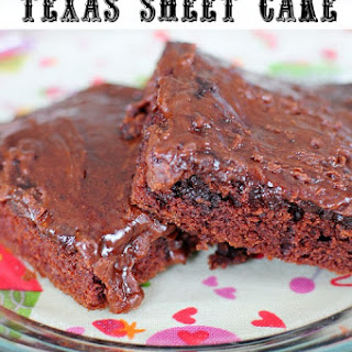The Best Ever Texas Sheet Cake
