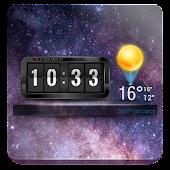 Free 3D Flip Clock & Weather Widget APK for Windows 8