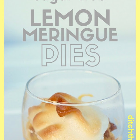 Low Carb Lemon Meringue Pies