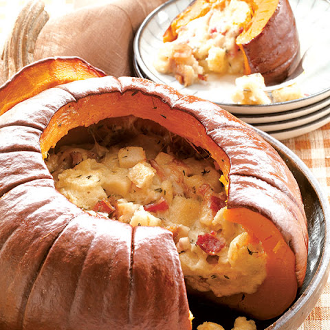Dorie Greenspan's Pumpkin Stuffed with Everything Good