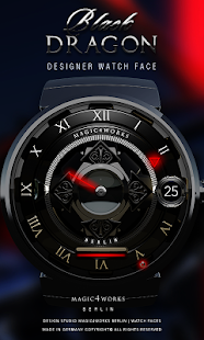 Watch Face Black Dragon M4W - screenshot
