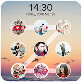 App lock screen photo pattern version 2015 APK