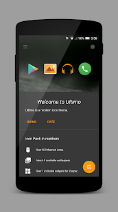 Ultimo Icon Theme- screenshot thumbnail