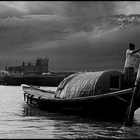 by Sayantani Basu - Transportation Boats