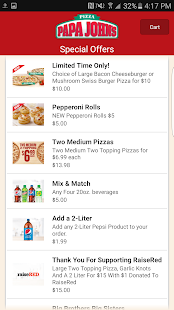Free Download Papa John's Pizza APK for Samsung