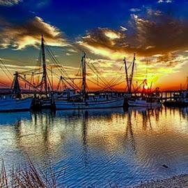 by Darryll McBride - Transportation Boats
