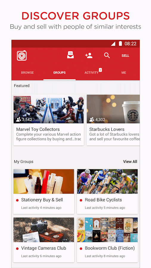 Carousell: Snap-Sell, Chat-Buy Screenshot 2