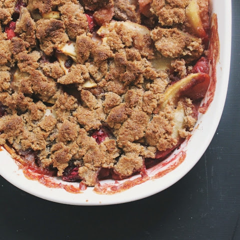 Cranberry Apple Maple Crisp