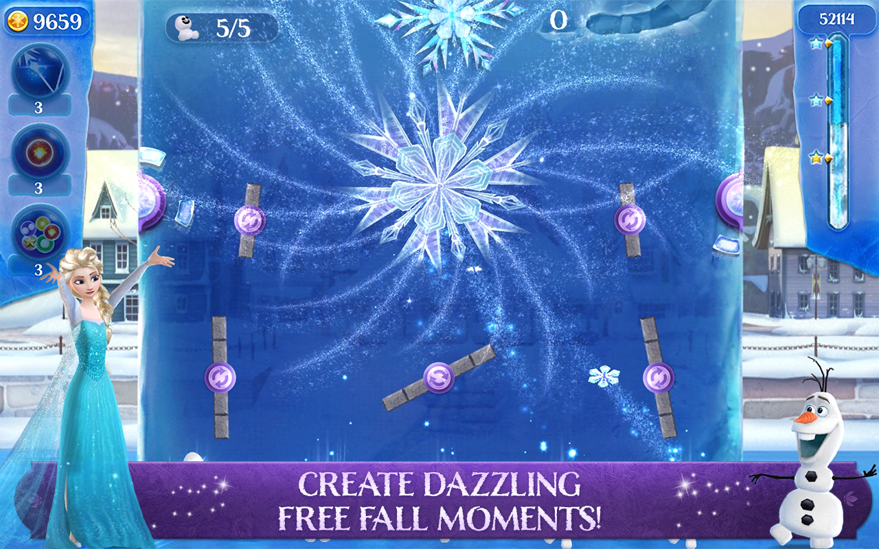 Frozen Free Fall: Icy Shot Screenshot 2
