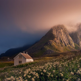 North vs South by Danil Korzhonov - Landscapes Mountains & Hills ( lofoten, norway )