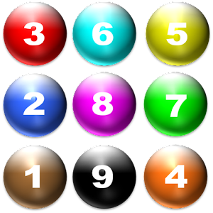 Number Balls Game Icon