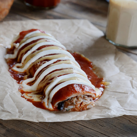 Gluten Free Taco Bell-Style Smothered Burrito