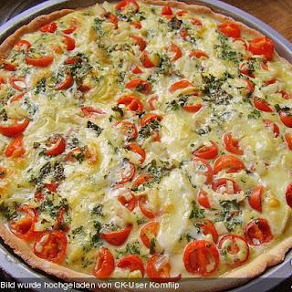Mozzarella Tomato Basil Quiche Recipes