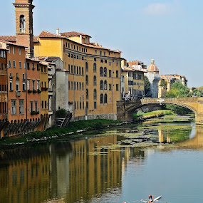 Firenze by Francis Xavier Camilleri - City,  Street & Park  Historic Districts
