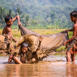 play mud by Doeh Namaku - Babies & Children Children Candids