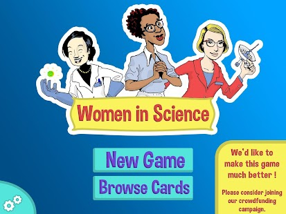 Women in Science - screenshot