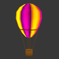 Baloon with basket