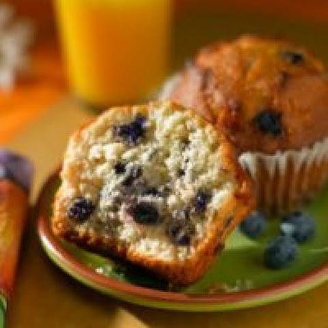 Copycat Starbucks Low Fat Blueberry Muffins