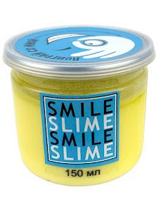 Слайм-лизун Cмузи желтый, 150 мл.