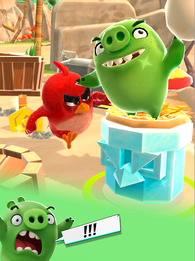 Angry Birds Action! Screenshot 12