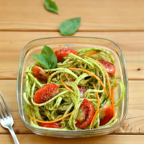 Courgette and Pesto Simple Salad