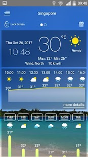Free Weather forecast APK for Windows 8