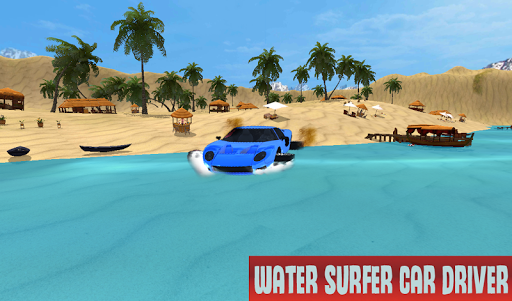 Water Surfer Car Driving For PC