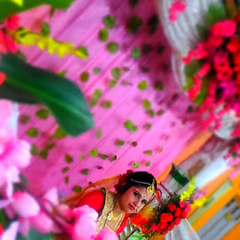 by Bijoy Mandal - Wedding Bride & Groom