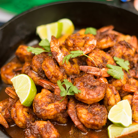 Tequila Lime Shrimp from Mexico's Rancho La Puerta