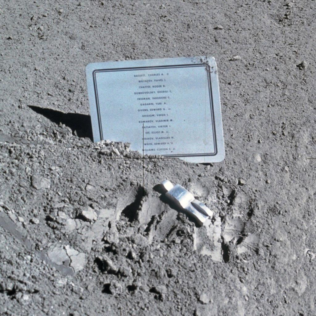 "Referred to as ""the first art installation on the Moon"" by CBS anchorman Walter Cronkite, the Fallen Astronaut sculpture and its associated plaque, were placed secretly on the moon by the crew of ..."