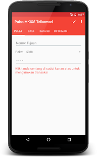 App Pulsa MKIOS Telkomsel APK for Windows Phone