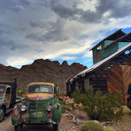 Nelson Ghost town, NV by Stephen Terakami - Novices Only Landscapes ( las vegas, nevada, ghost town, nelson, old cars )