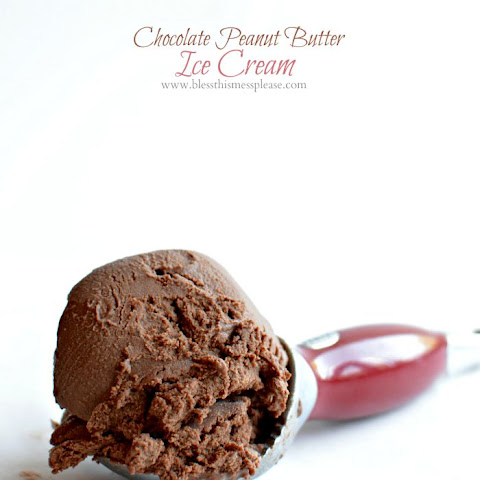Chocolate Peanut Butter Ice Cream