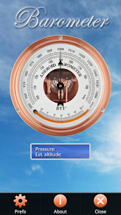 Barometer App Free screenshot for Android
