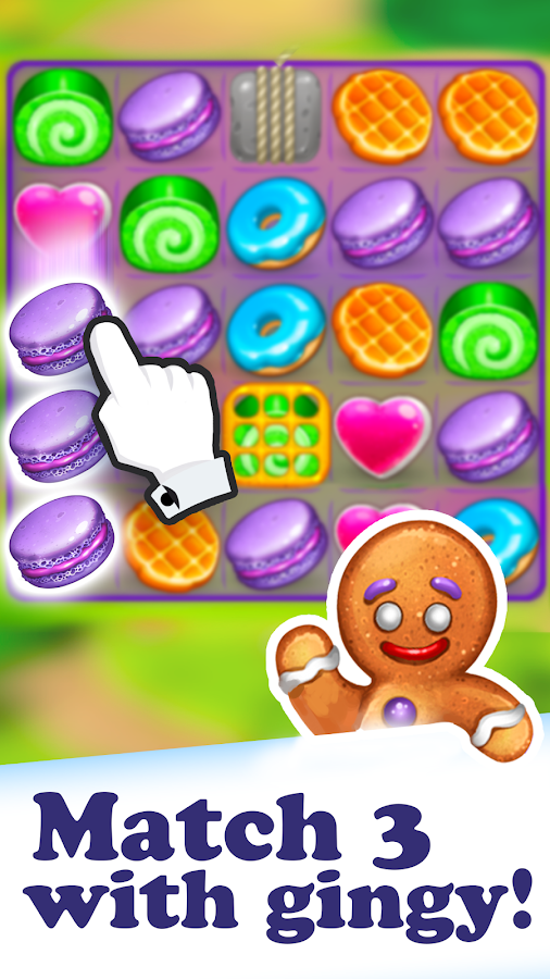 Gingerbread Story Deluxe Screenshot 0