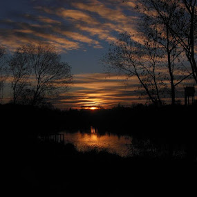 u rybníka by Libuše Kludská - Landscapes Sunsets & Sunrises