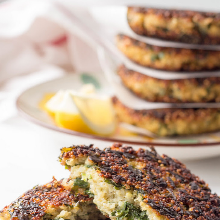 Kale And Quinoa Cakes Recipes — Dishmaps